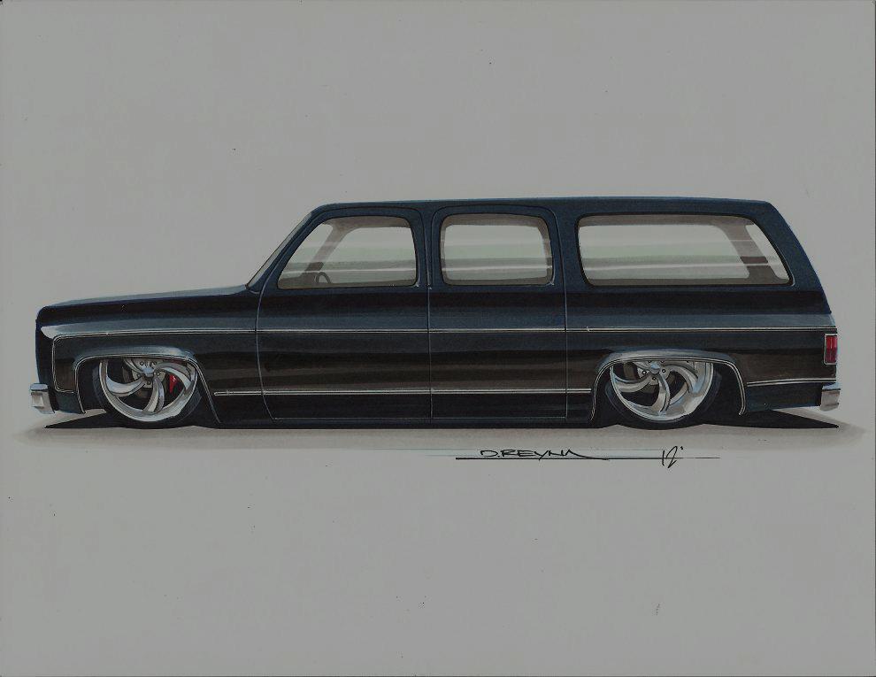 Severed Ties 1987 Chevrolet Suburban - Rick Robinson