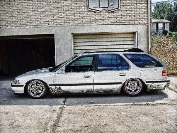Severed Ties 1991 Honda Accord Wagon Joe Otter Luis