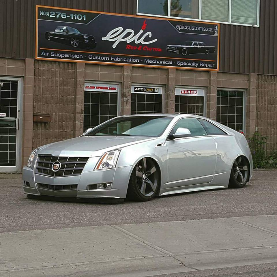 Severed Ties 2011 Cadillac CTS Coupe