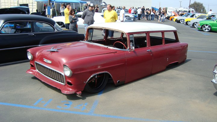 Severed Ties 55 Chevy Bel Air Wagon Tommy Harmer