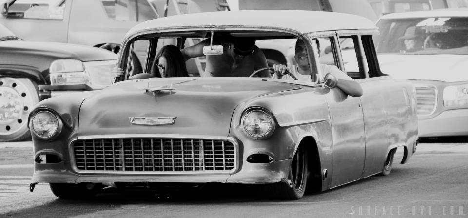 Severed Ties 55 chevy bel air wagon - Tommy Harmer